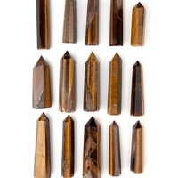 Tiger Eye Polished Point Wand