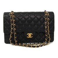 Chanel Matelasse A01112 Double Flap Double Chain Bag Women's Leather Sh BF320081