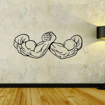 Weightlifting Arm Wrestle Wrestling Flex Flexing Weight Training Workout Gym