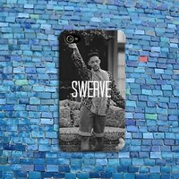 SWERVE Swag Funny Phone Case Quote Rubber Cover iPhone iPod Black White Cute