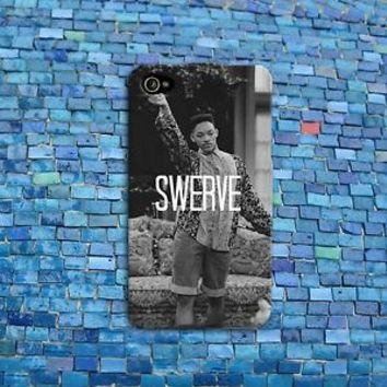SWERVE Swag Funny Phone Case Quote Rubber Cover iPhone 4 4s 5 5s 5c 6 Plus iPod