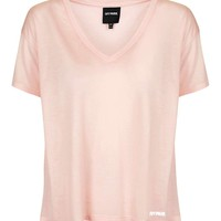 Oversized V-Neck Tee by Ivy Park - Topshop