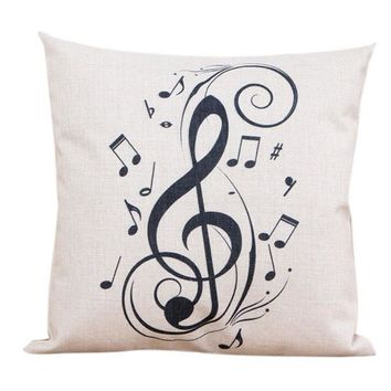 Cotton Linen Pillow Case Sofa Waist Throw Cushion Cover Home Decor