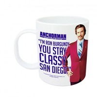 Stay Classy San Diego Anchorman Coffee Mug