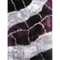 LA Rugs Fantasy Shaggy Collection Area Rug