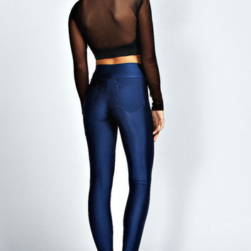 Lola Pocket Back High Waist Disco Pants