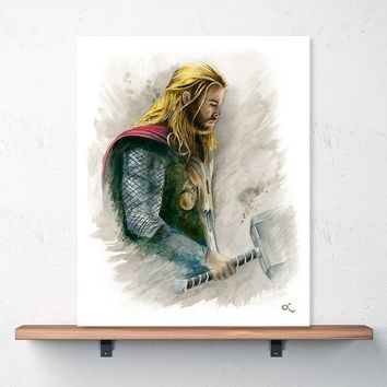 """The Mighty Thor"" Print 