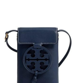 Tory Burch Miller Leather Phone Crossbody Bag | Nordstrom