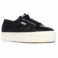 Superga 2790 Perfleaw Fashion Sneakers - Black