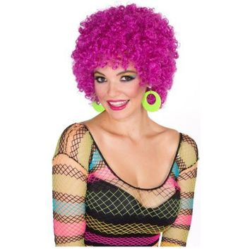 Afro Wig Costume Accessory Adult Halloween