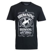 Browning Men's Bottle Label Tee