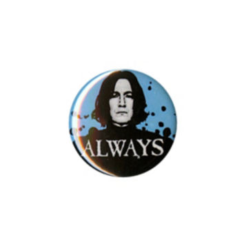 Harry Potter Snape Always Pin