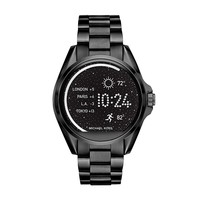 Michael Kors Access Unisex 45mm Black IP Bradshaw Chronograph Smart Watch
