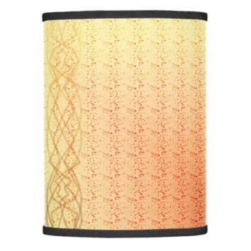 Orange Lights Lamp Shade