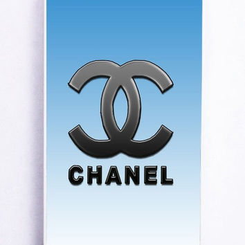 iPhone 5 Case - Rubber (TPU) Cover with Chanel Versi 2 Rubber Case Design