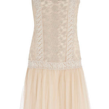 Oasis Dresses | Cream Daisy Flapper Dress | Womens Fashion Clothing | Oasis Stores UK
