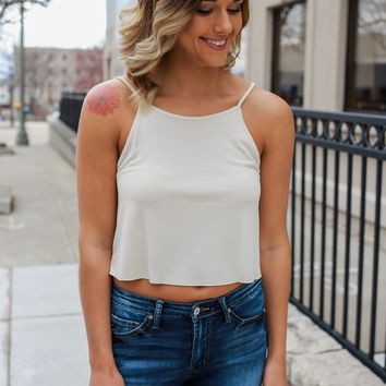 Fly With It Tank - Cream