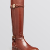 Tory Burch Tall Flat Riding Boots - Calista