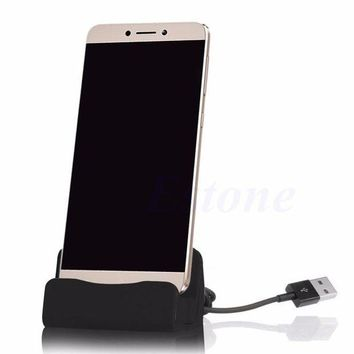 ESBON5 Universal 2A Quick Charge 15 Degree Type-C Port Phone Wired Charger Holder Fast Chargers For Xiaomi For Huawei For Type-C Device