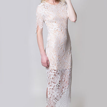 Lace Maxi Dress, wedding dress, bridesmaid dress, Flower Embroidery Maxi Dress, evening dress, romantic, Gatsby, bridal, lace, cocktail,