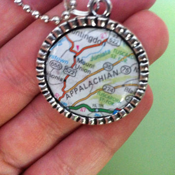 Appalachian Mtns Necklace
