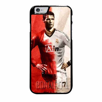 cristiano ronaldo manchester united and real madrid iphone 6 plus 6s plus 4 4s 5 5s 5c 6 6s cases