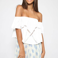 Nerro Crop - White
