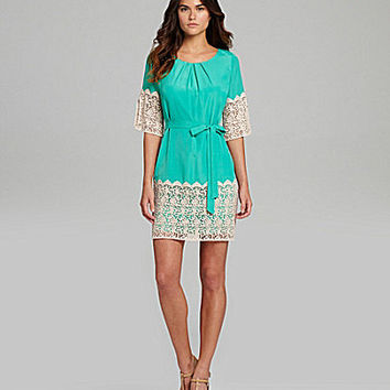 Gianni Bini Nancy Lace-Detail Dress | Dillards.com