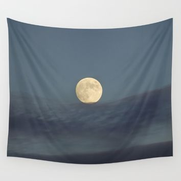 """Moon equilibrium"" Wall Tapestry by Guido Montañés"