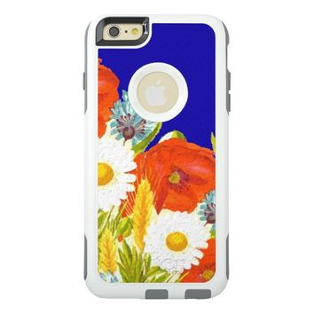 Colorful Painted Flowers OtterBox iPhone 6/6s Plus Case