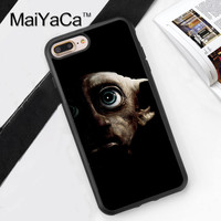 DOBBY HOUSE ELF HARRY POTTER Printed Soft Rubber Phone Case OEM For iPhone 6 6S Plus 7 7 Plus 5 5S 5C SE 4 4S Back Cover Shell