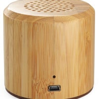 Bambo Wooden Bluetooth Speaker Cylinder