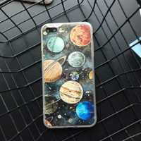 Mysterious solar system Phone Case Cover for Apple iPhone 7 7 Plus 5S 5 SE 6 6S 6 Plus 6S Plus + Nice gift box! LJ161007-005
