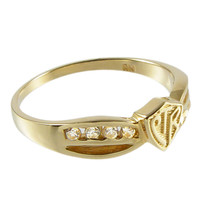 Gold Bow CTR Ring