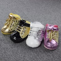 Autumn 2015 Baby toddler First Walkers soft sole prewalker baby Shoes ,Newborn boys antislip bebe sapatos age 0-18 month R8061