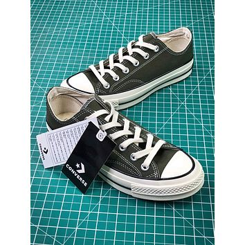 Converse Chuck Taylor All Star 1970s Dark Green Canvas Shoes
