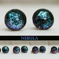 Nebula Color Shifting Stud Earrings