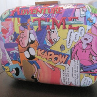 Adventure Time comic themed purse