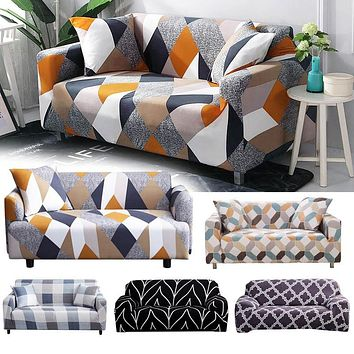 Sectional Elastic Stretch Sofa, Armchair Cover Three/Four seats