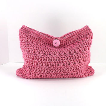 Crochet make up bag, crochet cosmetic bag, crochet mini bag, fashion make up bag 2014