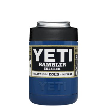 Custom YETI Colster Savannah Blue Design Your Own Bottle & Can Cooler