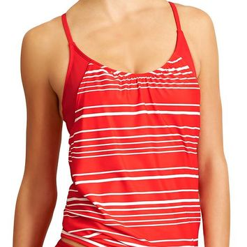 Athleta Womens Encinitas Blousy Tankini