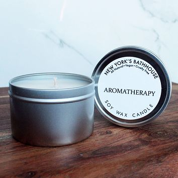 Aromatherapy Soy Wax Tin Candle