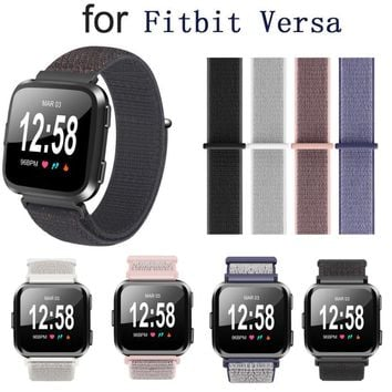 Replacement Woven Nylon Loop Bracelet Sport Watch Band Strap For Fitbit Versa SmartWatch Watachband Sporting Good Accessories