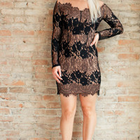 Clarissa Lace Dress - Black