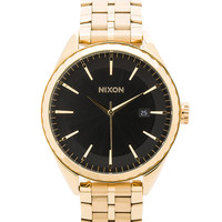 Nixon Minx in All Gold & Black Sunray