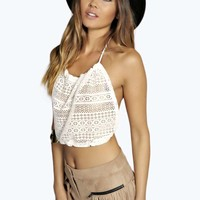 Aimee 90'S Lace Crop