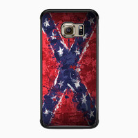 Confederate Rebel Flag Painting for Samsung Galaxy S6 Edge Case *NS*