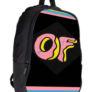 Obey Doughnut Odd Future for Backpack / Custom Bag / School Bag / Children Bag / Custom School Bag *02*