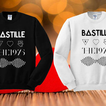 bastille , nhbd , the1975,arctic monkeys Sweatshirt Shirt Tee Teeshirt T Shirt Clothing Unisex
